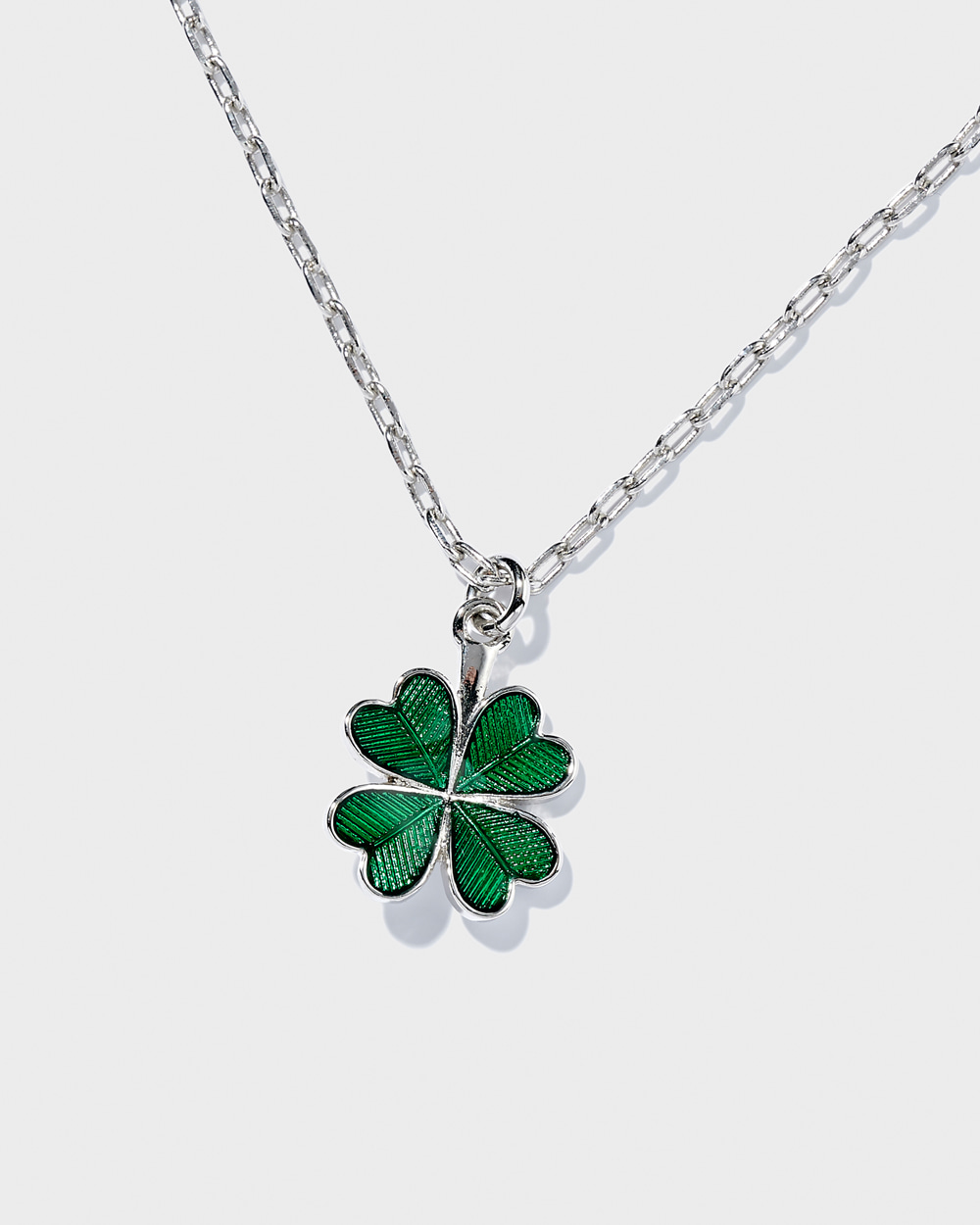 Clover necklace (Silver)